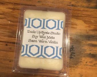 WARM VANILLA Soy Wax Melts - Soy Tarts -
