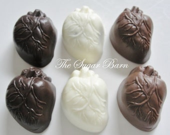 HUMAN HEART CHOCOLATE Mini Oreo® Cookies*12 Ct*Doctor Gift*Cardiologist*Medical Doctor*Body Part*Transplant*Heart Specialist*Med Student