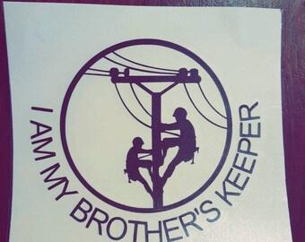 Lineman Brothers Vinyl Decal