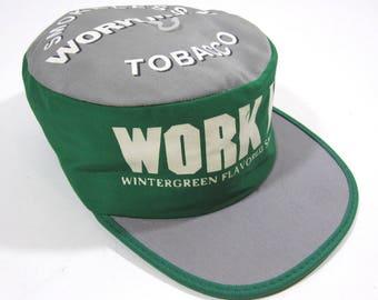 Vintage Deadstock Work Mate Tobacco Hat 1980's