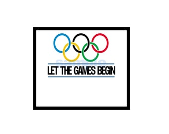 Printable Instand Download Olympic Sign