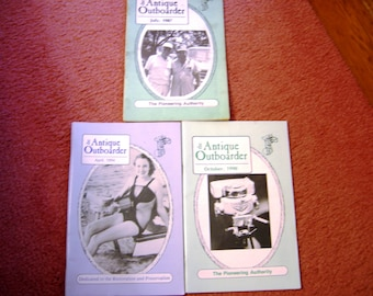 The antique motor club INC aomci antique outboarder 1990 1994 1987