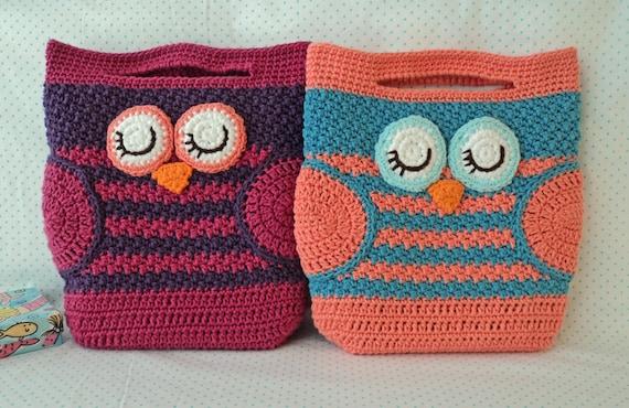 Crochet Owl Bag Pattern Choice Image Knitting Patterns Free Download