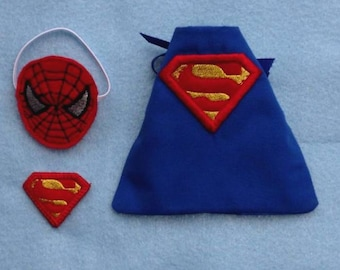 In Hoop Superhero Capes and Masks set 1 for Elf