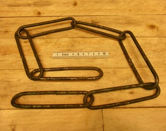"""30"""" 76cm welded forged chain multi period living history use"""