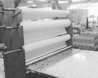 "Sunbelt Mfg. Co.  Primed Cotton Canvas Roll 6 yds x 63"""