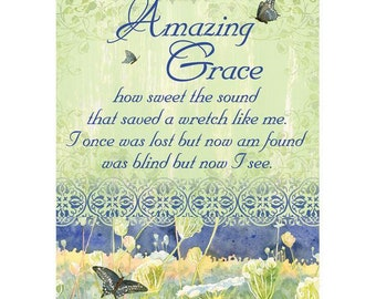 Garden Flag - Amazing Grace