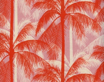 Palms - Pink from Poolside by Melody & Alexia for Cotton + Steel