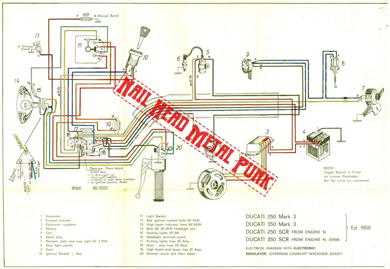 Ducati Multistrada 1000 Ds Wiring Diagram