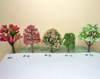 Miniature Trees-Choice of Trees for Fairy Garden/Terrariums-Model Flowering Trees