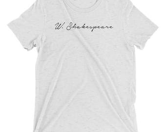 William Shakespeare - The Bard - Classic Author - Short sleeve t-shirt