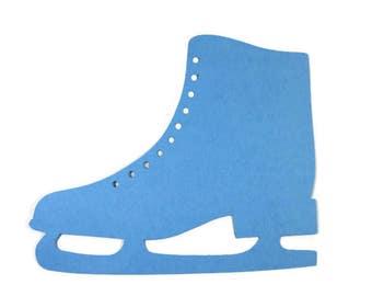 Extra Large Ice Skate Die Cut set of 4
