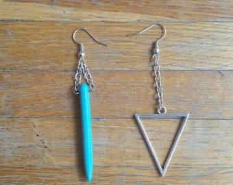 Spiky earrings