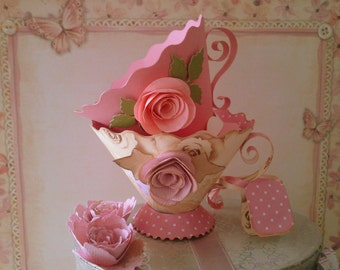 Teacup Wedding Favours in Packs of 10