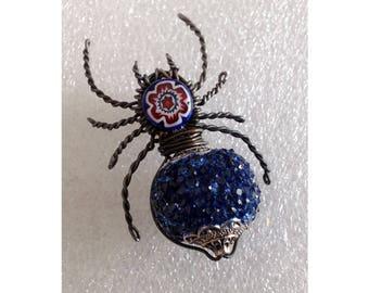 Pin-backed Minerva Spider