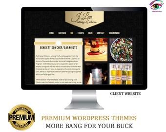 Custom WordPress Website, Mobile Responsive Website, Photography Website, Blog Website, Small Business Website, Premium Website Template
