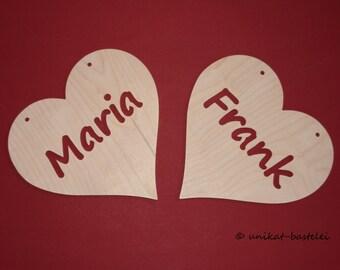 Heart – I love you – Ich liebe dich