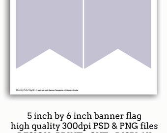 banner flag template