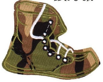 Badge Patch - Shoe RANGERS military * 11 x 8 cm * embroidered patch Applique