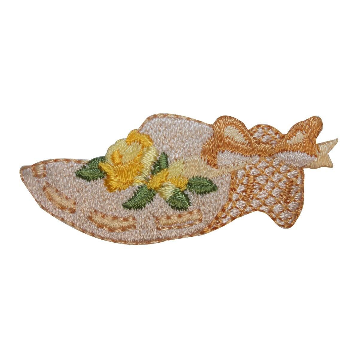 eda50895922 ID 8482 Floral Wicker Sun Hat Patch Garden Club Cap