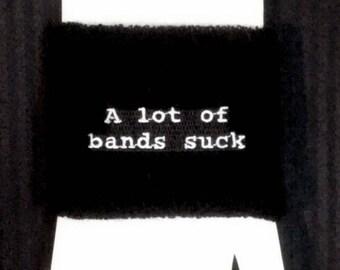 Verbiage Wristband - 1 single