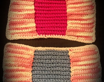 Crochet Swiffer Covers Reusable Swiffer Pads Set of 2 Made to Order