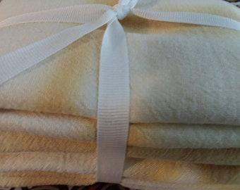 Shibori tye-dye tea towel set
