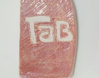 Tab Soda Ceramic Ring Tray