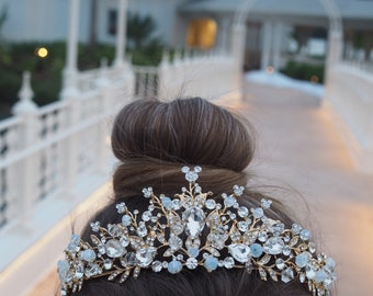 The Golden Mickey Inspired Tiara