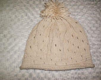 Handmade Pom Pom Baby Beanie Hat