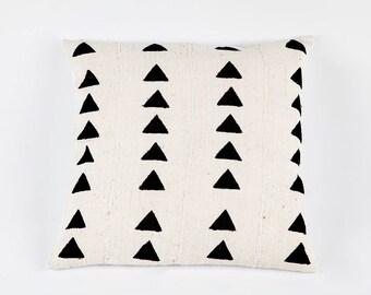 Triangle Mudcloth Bogolan Pillow