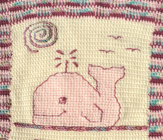 Whale Baby Blanket Crochet Pattern Only Crochet And Cross Stitch