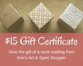 15 Dollar Gift Certificat...
