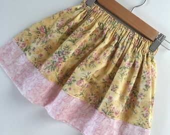 Girl's Skirt - Size 2T - Country Yellow