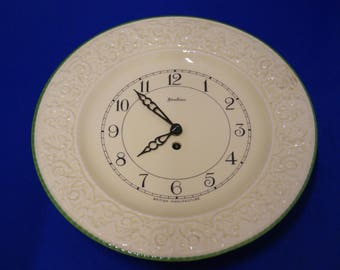Art Deco Wall Clock Plate Kitchen Parlour By Bentima British Manufacture