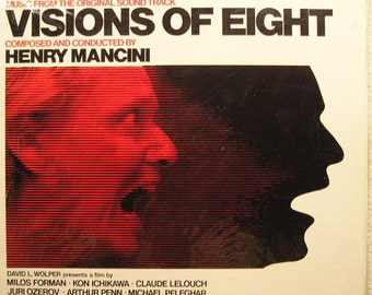 Visions Of Eight Soundtrack Vinyl Record  Henry Mancini   Sealed