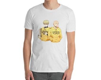 Saitama and Genos Oppai T-Shirt