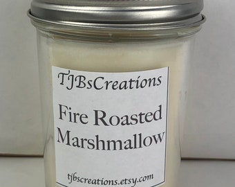 Fire Roasted Marshmallow Scented Candle
