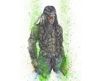 Mortal Kombat Nightlife 8.5x11 Signed Art Print