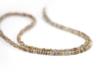 Diamond Rough Beads 10 Brown Natural Chip Beads Precious Gemstone April Birthstone