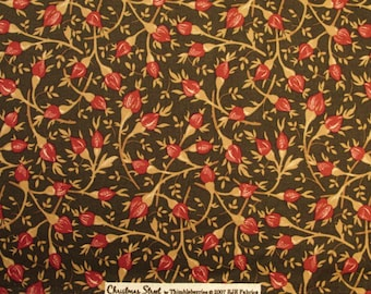 """Thimbleberries Quilting Fabric """"Christmas Street"""" by Lynette Jensen for  RJR Fabrics Sold by the HALF Yard"""