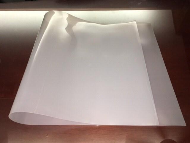 2 Long 48 X 24 X 1 30 Flexible Translucent Ldpe