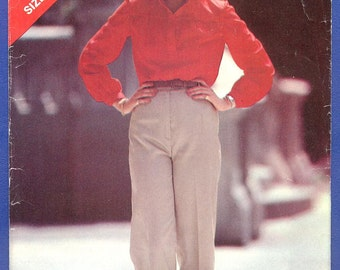 1990s Misses' Top and Pants - Butterick See & Sew Sewing Pattern 3265