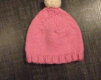 Bobble 0/3 months Hat