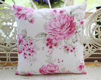 Pillow Cover Pink Roses 40 x 40 cm
