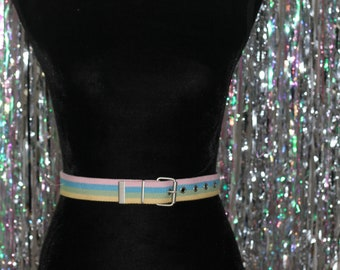 90's Multi- Colour Adjustable Belt *Excellent Condition