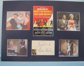 """Marilyn Monroe - """"There's No Business Like Show Business"""" signed by Dan Dailey"""