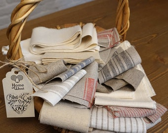 Fabric Scraps / Perfect for DIY projects