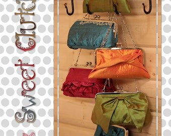 Sweet Clutches by GoLightly Sewing Studio - Paper Printed Pattern