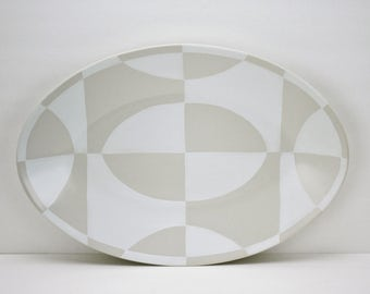 Vintage Gary DiPasquale Serving Platter Certified International NYC Abstract